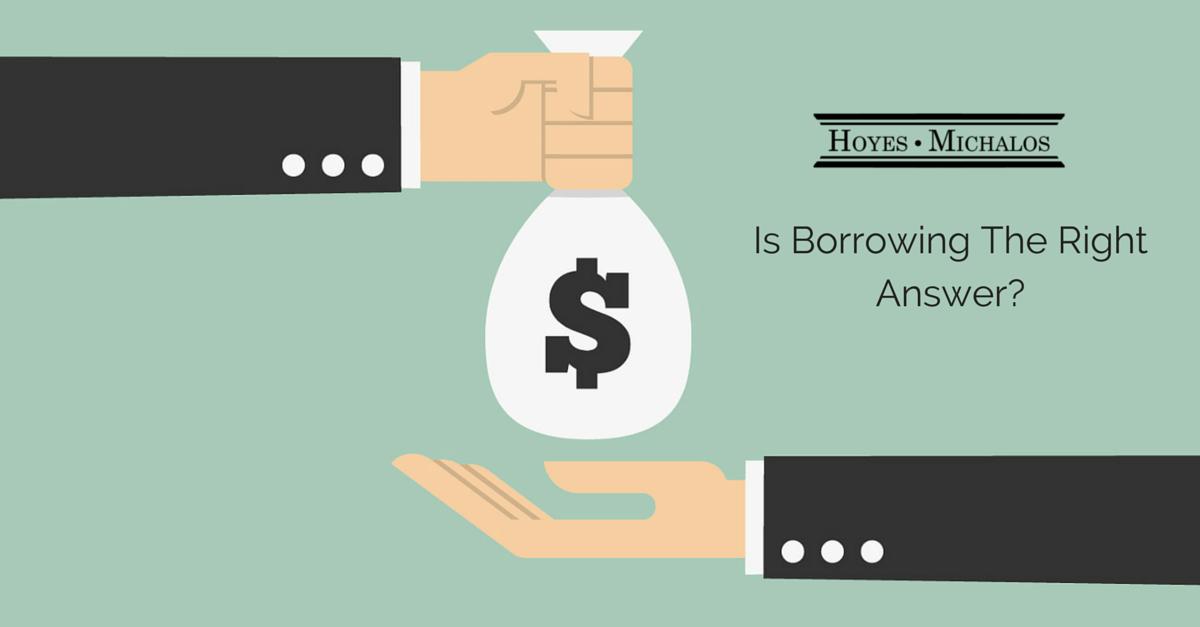 Borrow money consumer proposal