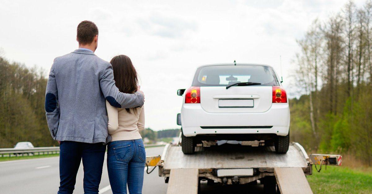 creditors repossess car